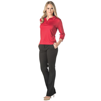 Contour 3/4 Sleeve Ladies Polo