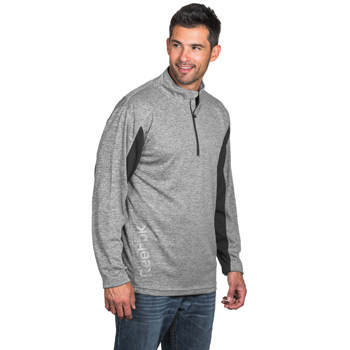 Reebok Crossover Heather 1/4 Zip Pullover