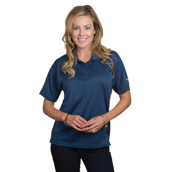 Reebok Ladies Tempo Heather Polo